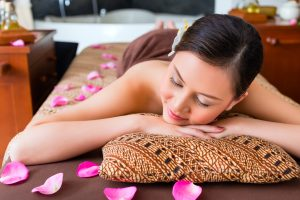 Indonesische Massage